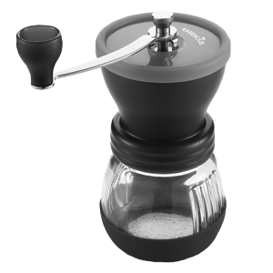 Manual Burr Grinder - Nice for a cup or two. Not fun for a full pot.