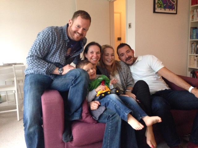 Dave, Jake, Caroline, Lisa & James