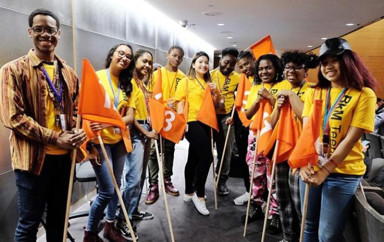 Brooklyn Museum Teens at the NY Youth Creativity Summit