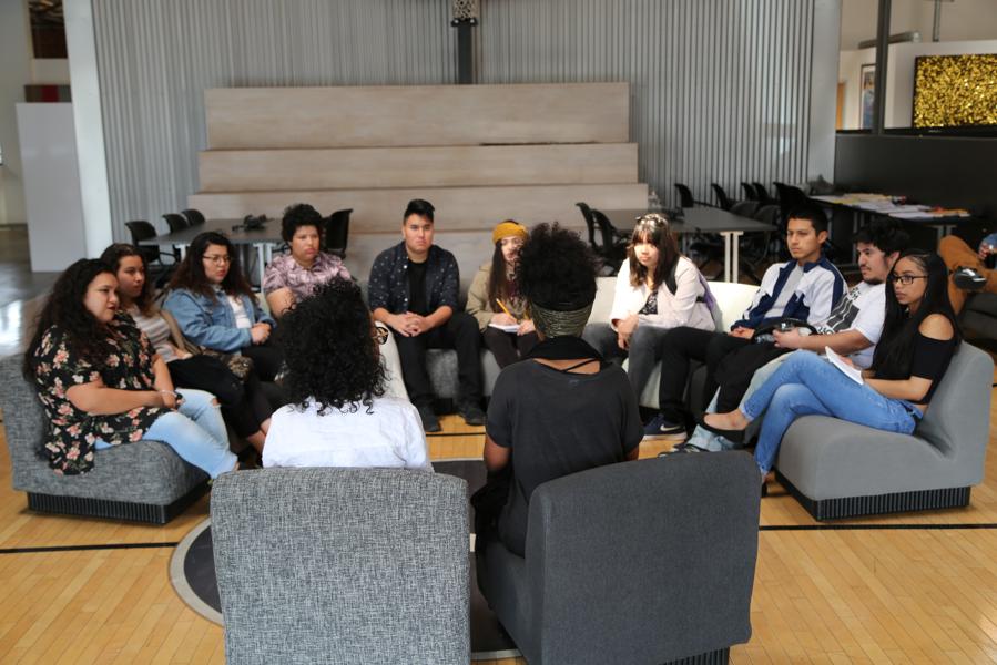 Pipelines roundtable for InnerCity Filmmaker Alumni