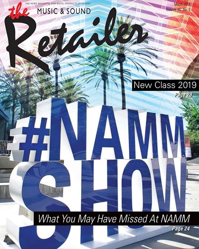 "Big thanks to #musicandsoundretailer for the ""NAMM 2019: The New Class"" feature!!! We're honored to be highlighted amongst so many awesome first time exhibitors at @thenammshow! Much love from the Culebra Family! We're on page 30! Link in bio."