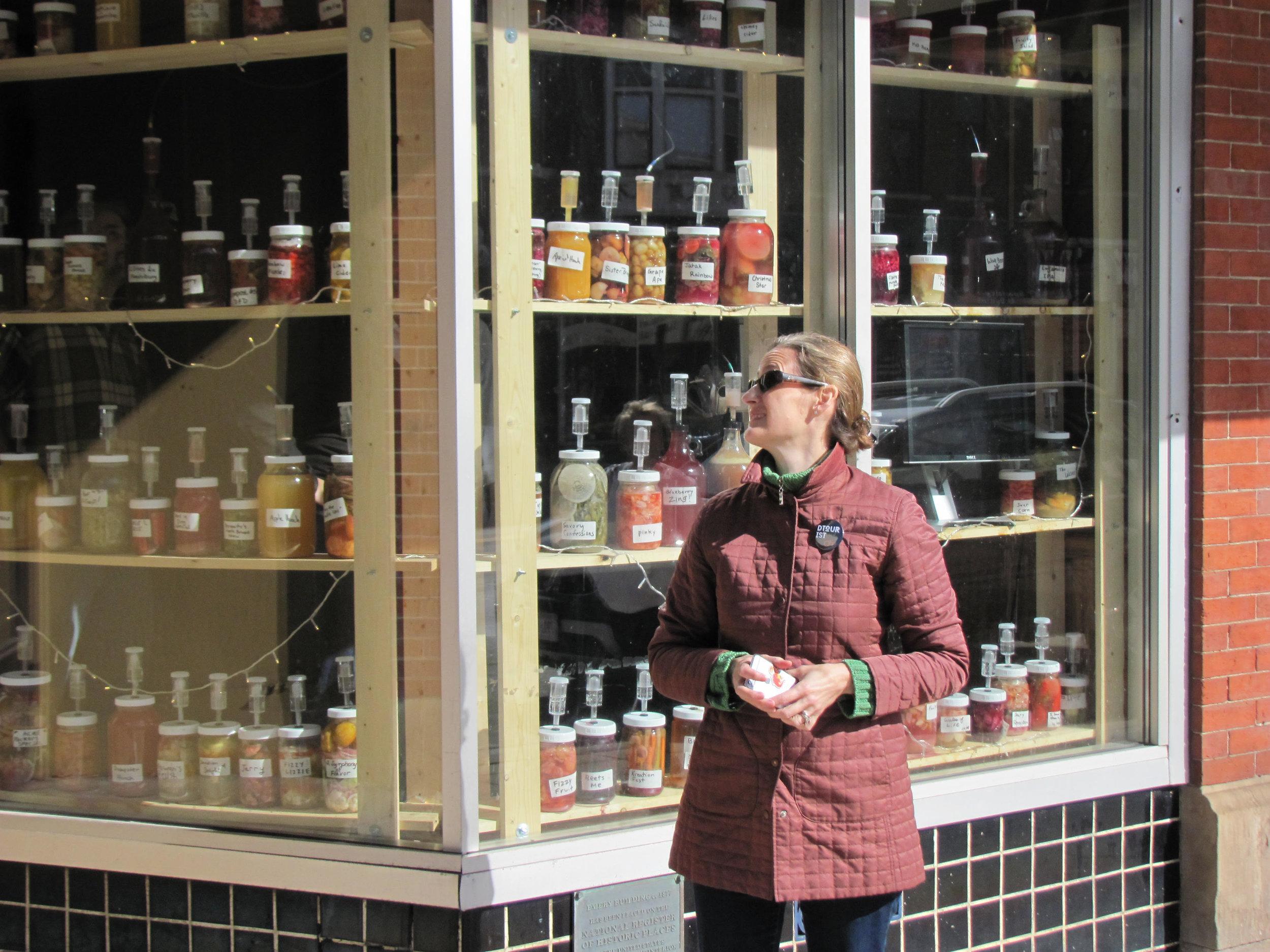 """Wormfarm Institute's Fermentation Fest in Reedsburg WI, """"Fermentophone"""" by Joshua Pablo Rosenstock"""