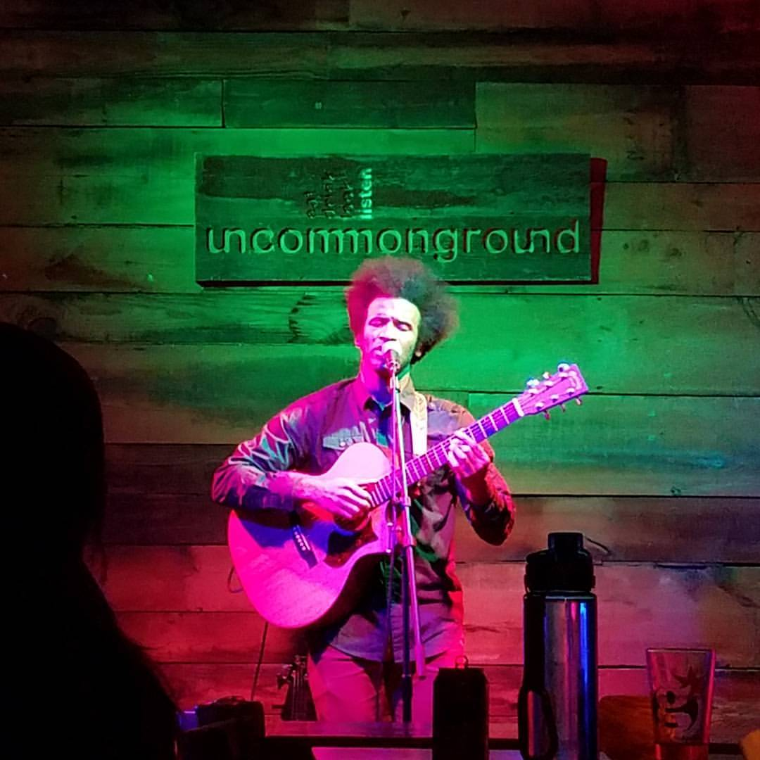 Live shot from homecoming show at Uncommon Ground in Chicago, IL