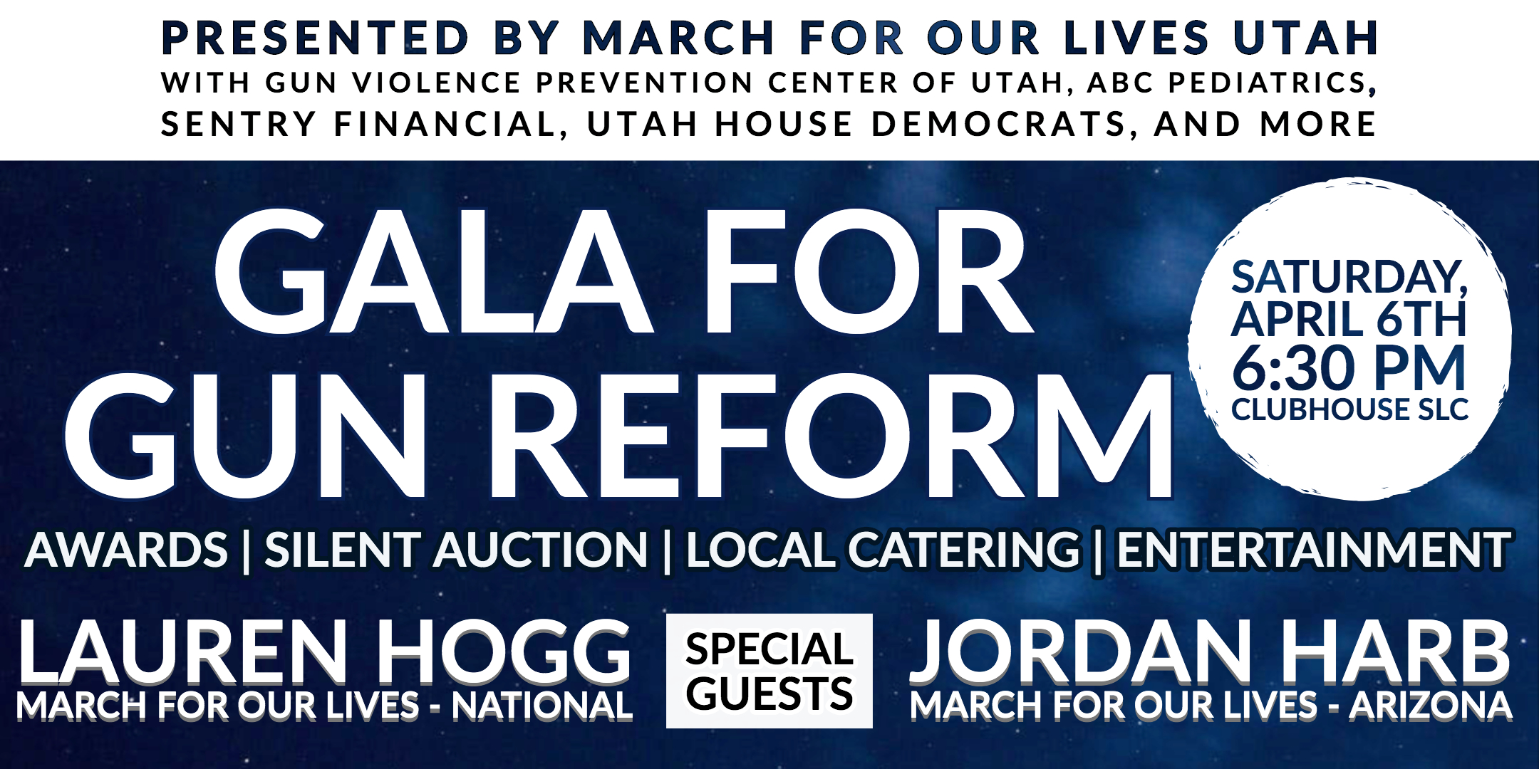 THE GALA - On Saturday, April 6th, all of us will come together to celebrate the progress of the gun reform movement and lay the foundation for the future. Our team is preparing an amazing night, and we want you there. Get your tickets here.