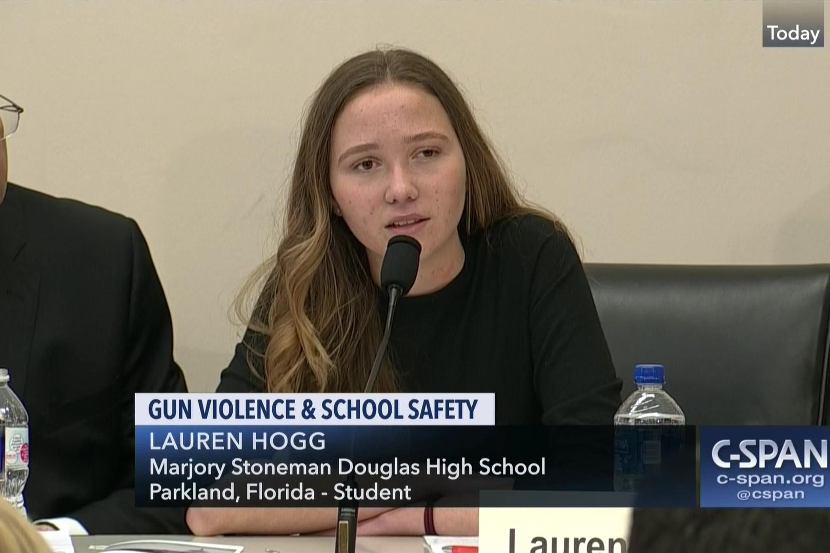 "LAUREN HOGG - March For Our Lives - NationalAuthor, ""#NeverAgain: A New Generation Draws A Line"""