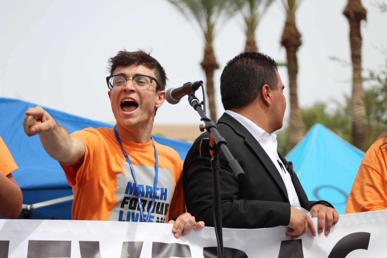 JORDAN HARB - March For Our Lives - ArizonaMountain View High School