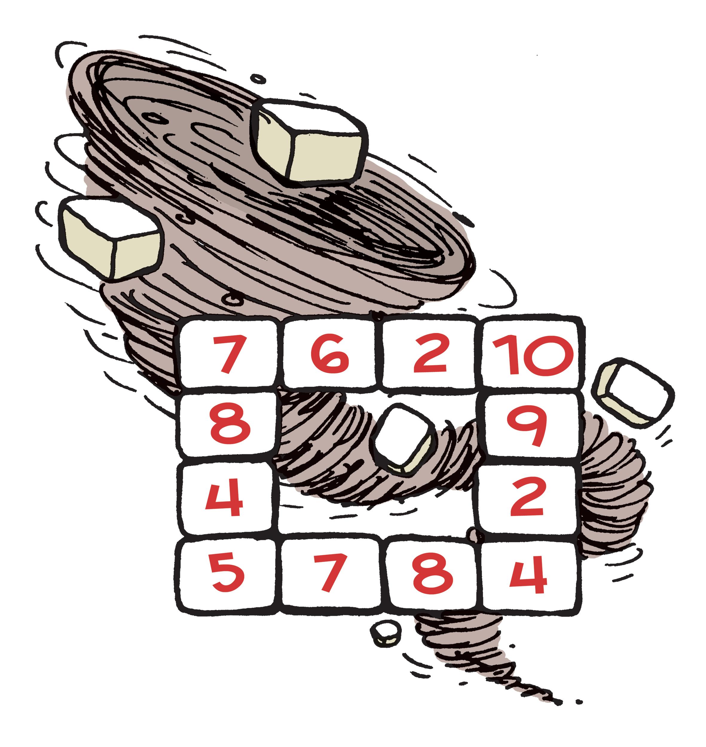 Puzzle illustration for CSIRO