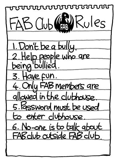 I am always breaking Rule Number 6...