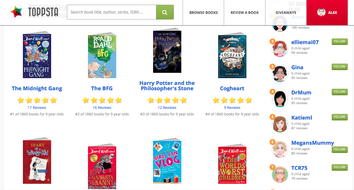 Toppsta discovery of great new children's books like the FAB Club series