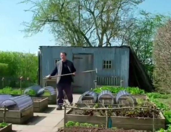 The potting shed was inspired by Monty Don's one in Gardener's World