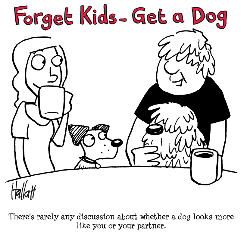 I wonder whether Boris Johnson has ever had a dog.
