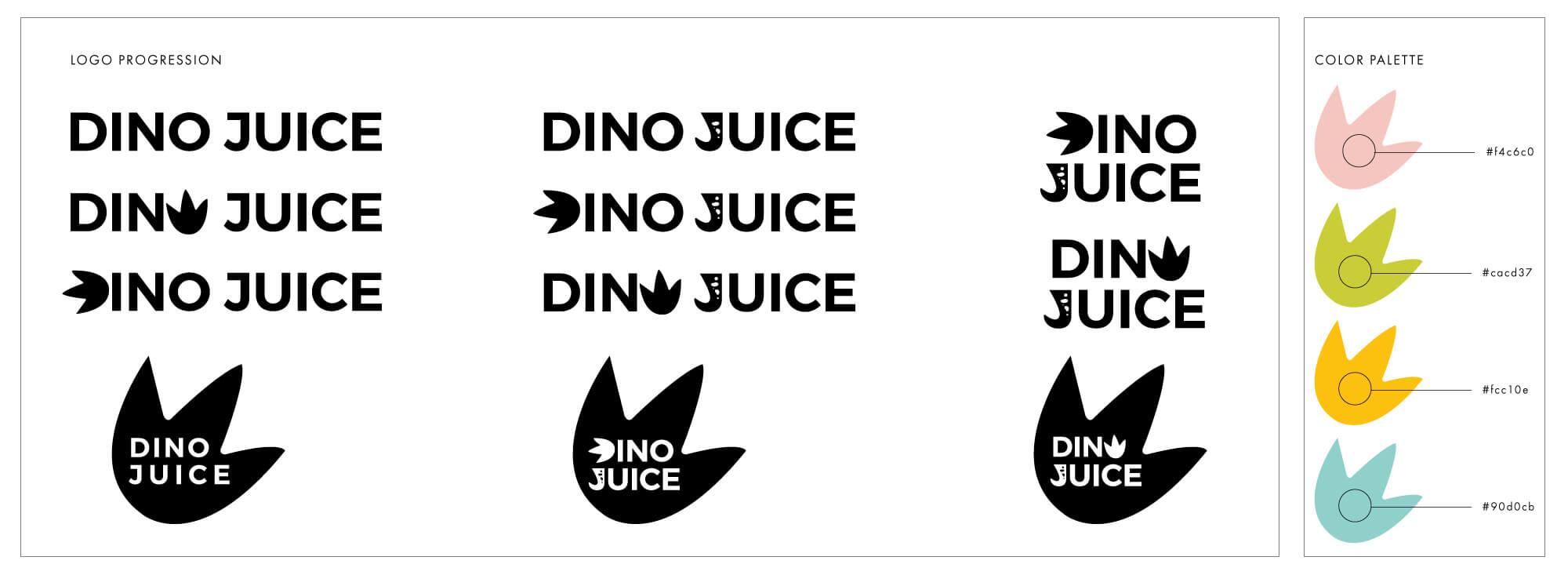 DinoJuice_LogoProgression_FULL.jpg