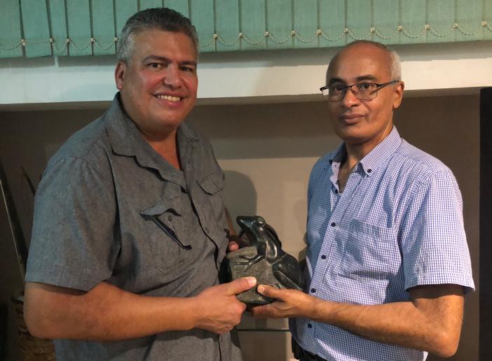 "Ramon Rivera donates ""a piece of his heart"" to Project Coqui"