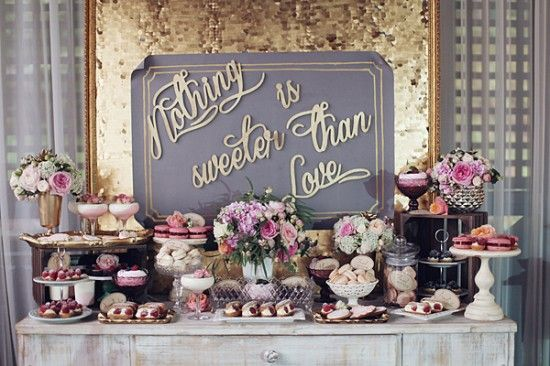 Food & Sweet Table Catering - Among all our scrumptious menus, we offer the option of an allergy & gluten free sweet table!