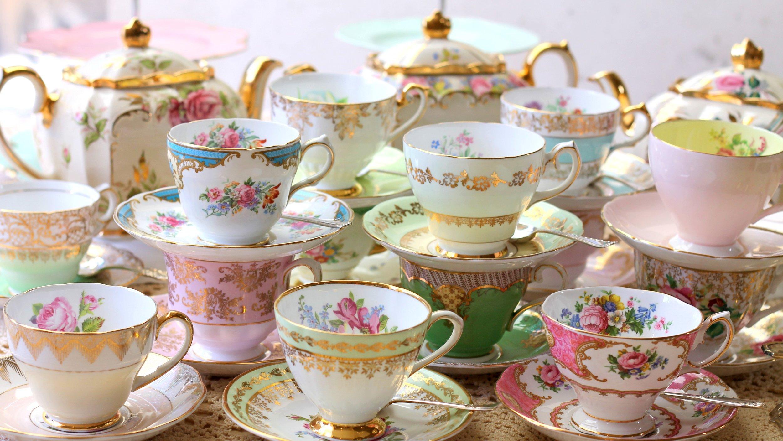 High Tea Spa Party -