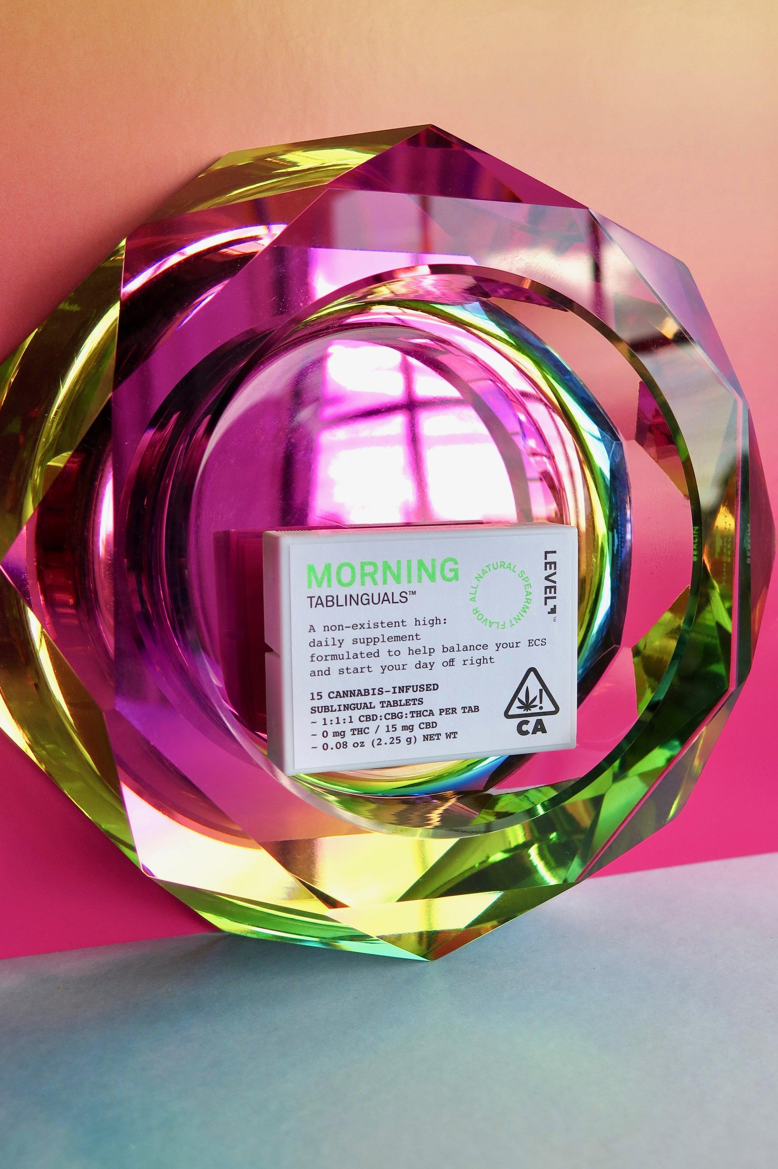 Level Morning Tablinguals. Photo: Marcia Gagliardi. © mymilligram. Styling: Christian Jusinski/ Surfacehaus .