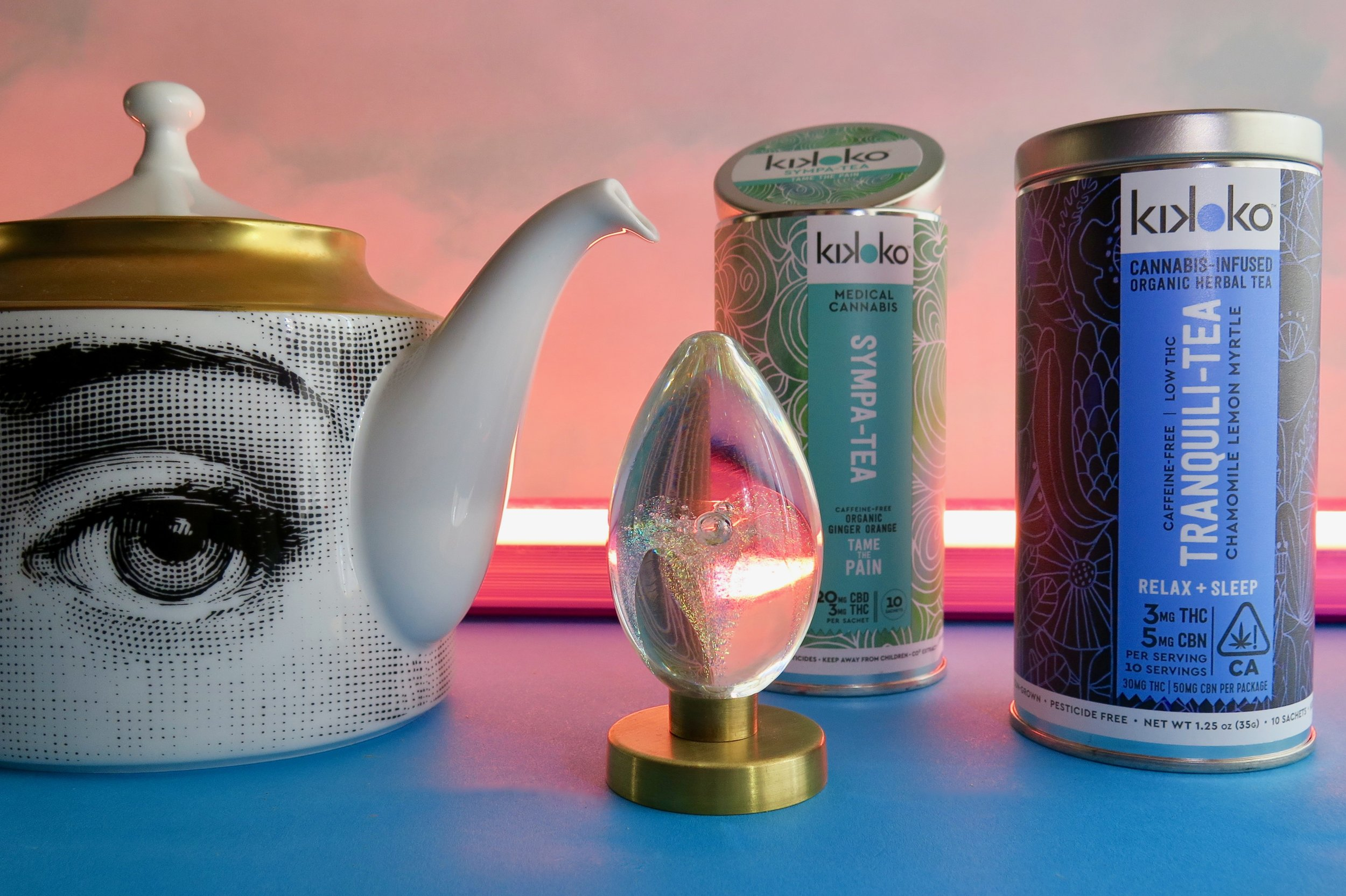The line of Kikoko teas can help with all kinds of need states. Photo: Marcia Gagliardi. © mymilligram. Styling: Christian Jusinski/ Surfacehaus .