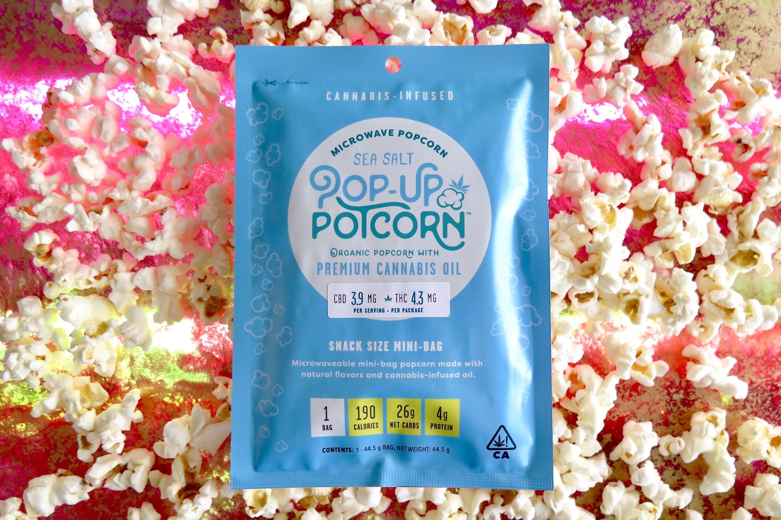Pop-Up Potcorn's 1:1 version. Photo: Marcia Gagliardi. © mymilligram. Styling: Christian Jusinski/ Surfacehaus .