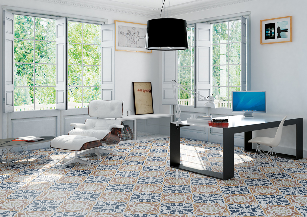 Encaustic Collections - Interior floor and wall cladding