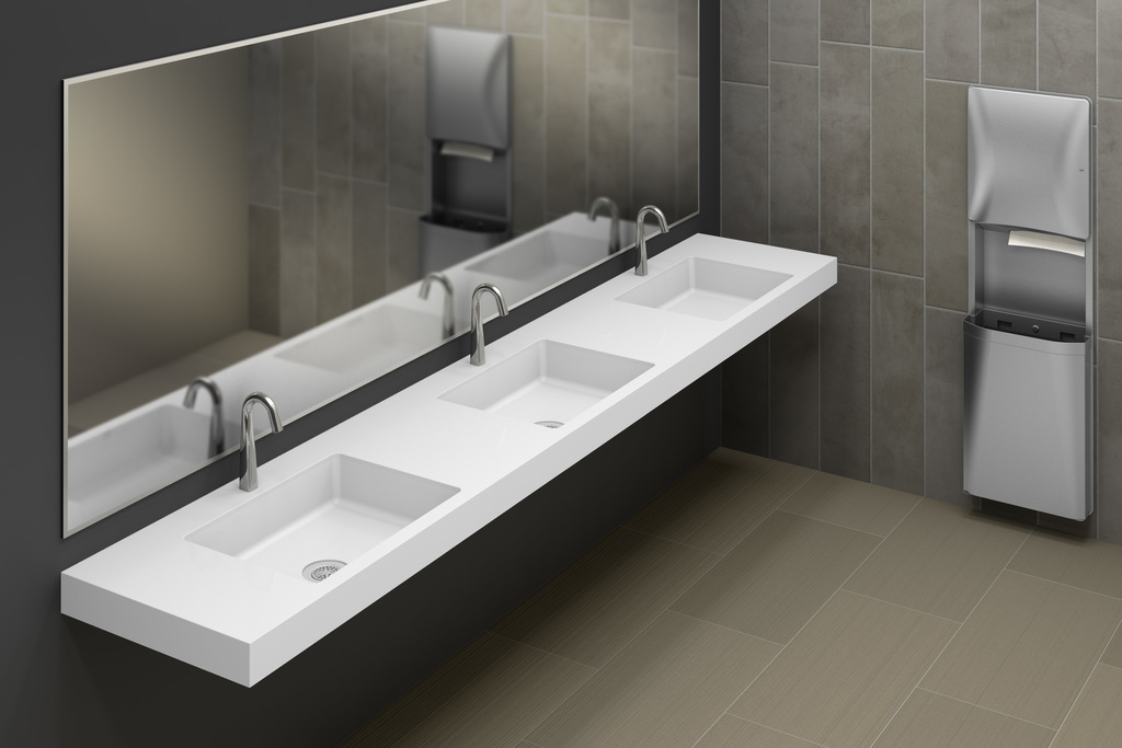 OmniDeck Series - Solid surface countertops