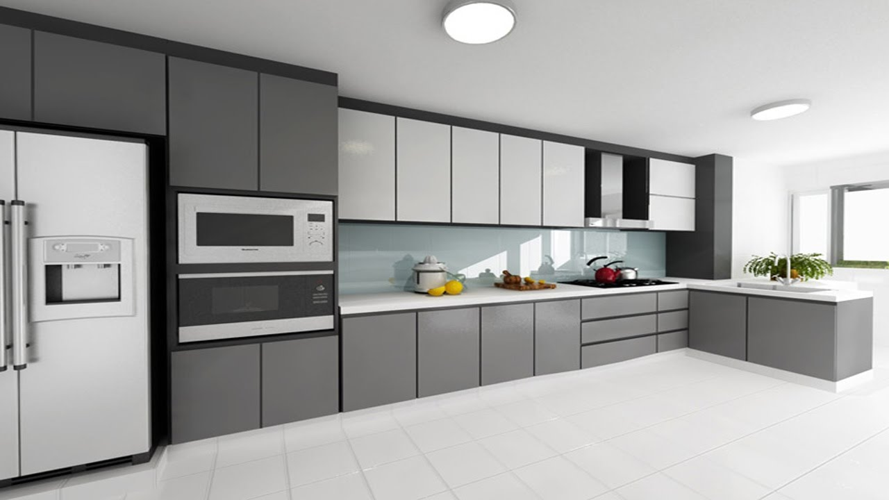 "Modern kitchens - Definitions of ""modern"" vary widely, but when we think of modern kitchen designs, we often think of frameless cabinets, sleek and simple hardware, strong horizontal lines and a lack of ornamentation, with the natural beauty of the materials shining through."
