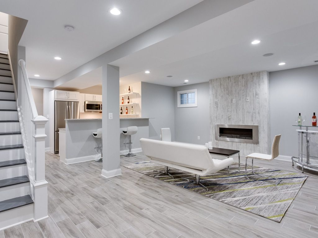 Basement Remodeling Services by Galaxy Construction