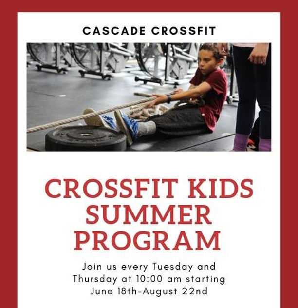 Today is the first day of our Kids' class, but you can still sign up!  Ages 5-11  click the link in our bio to sign up!  www.cascadecrossfit.com  #fitfam #cascadecrossfit #crossfit #northbend #issaquah #snoqualmie #issaquahhighlands #sammamish #fallcity #preston #fitness  #workout #motivation #fit #gym #fitspo #training #exercise #gymlife #fitnessmotivation #getfit