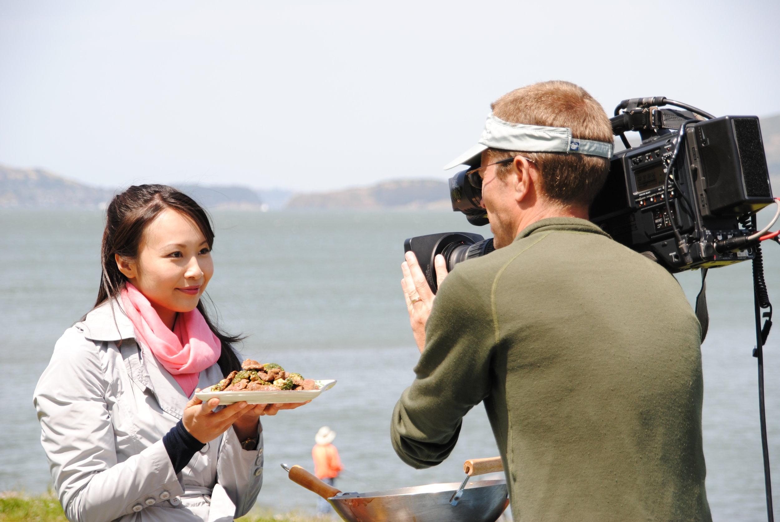 San Fransicso Food network shoot