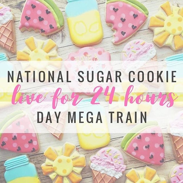 "☀It's National Sugar Cookie & Loop Day! ☀ ⁣ .⁣ Are you ready to gain a TON of new AWESOME followers?⁣ .⁣ @loopwithbrittandshan has teamed up with AMAZING LOOPS for this MEGA LOOP!⁣ •⁣ •LIKE AND SAVE THIS POST THEN; Head over to @loopwithbrittandshan ⬅️⁣ •⁣ •⁣ Look for the instructions on their most recent post ""National Sugar Cookie Day"" to join in on the fun!⁣ ⁣ #sugarloop79 #loopwithbrittandshan #liveloop #megalooptime #followtrain #megaliveloop #liveloop #loopers #mumloop #momloop #motherhood #bossbabe #holidayloop #follow4follow #connectingpeople #letsgetlooped #instadaily #instagood #blogger #momblogger #targetmom #amazonmom #followloop #followtime #fashion #fashionblog #interiordesign"