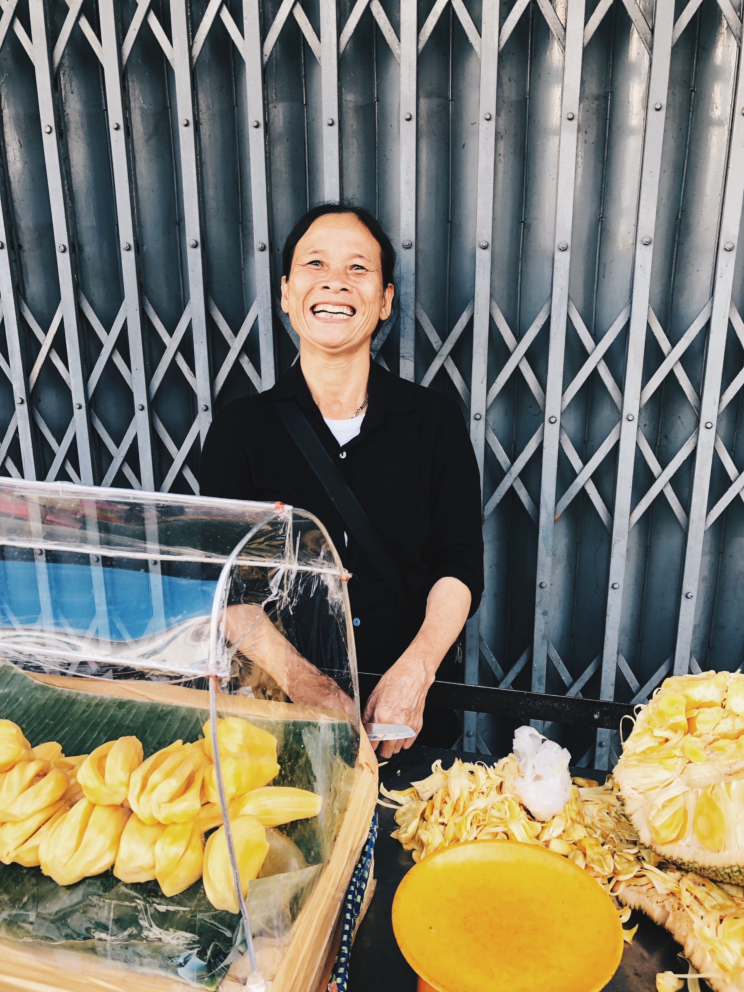 In Bangkok, aka the land of the Jackfruit!