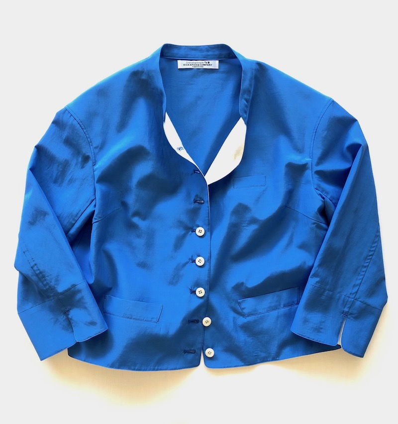Light-Hearted Jacket / Pan-am Blue