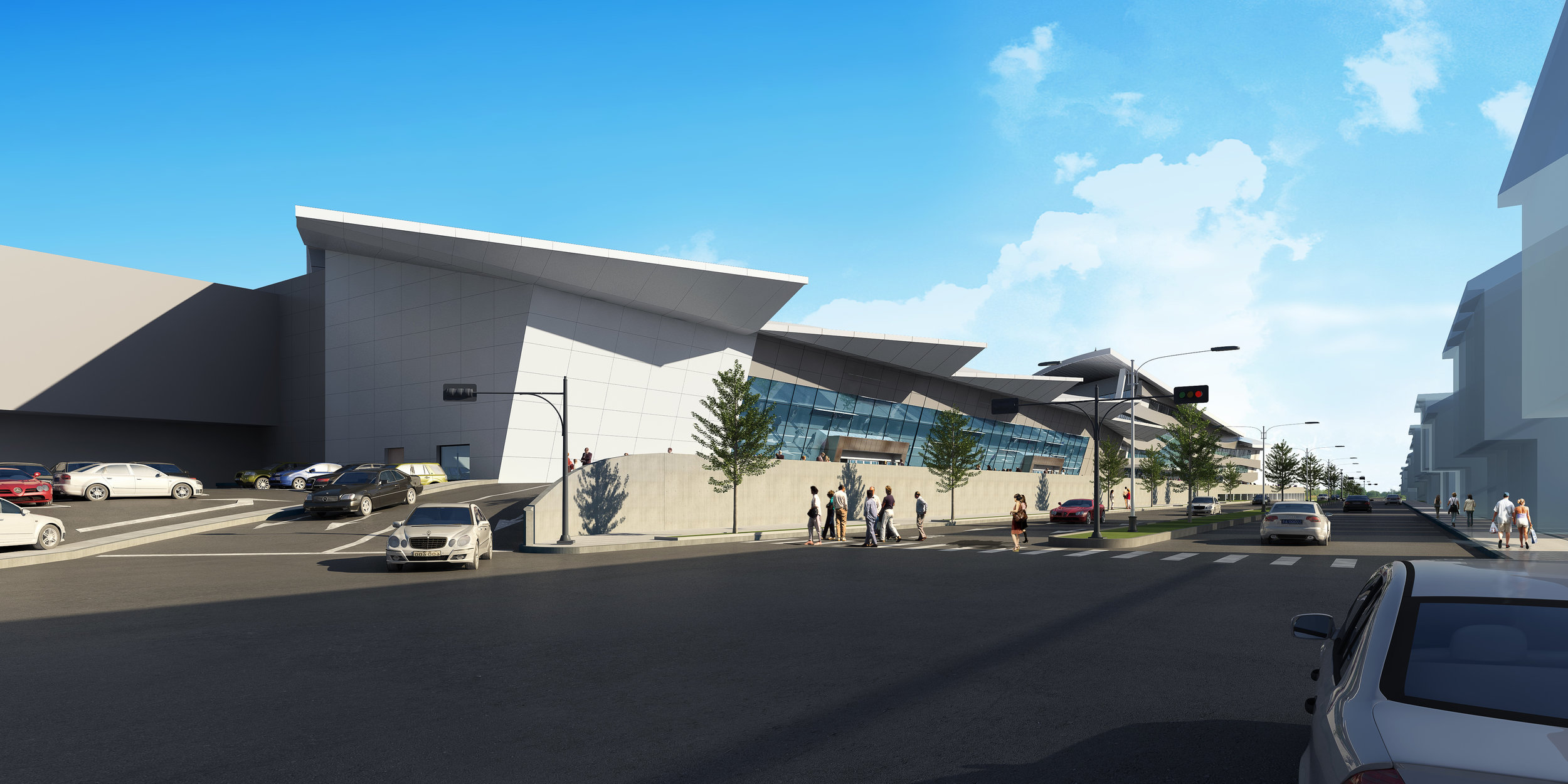Taichung Int'l Airport Renovation<br>台中國際機場改善