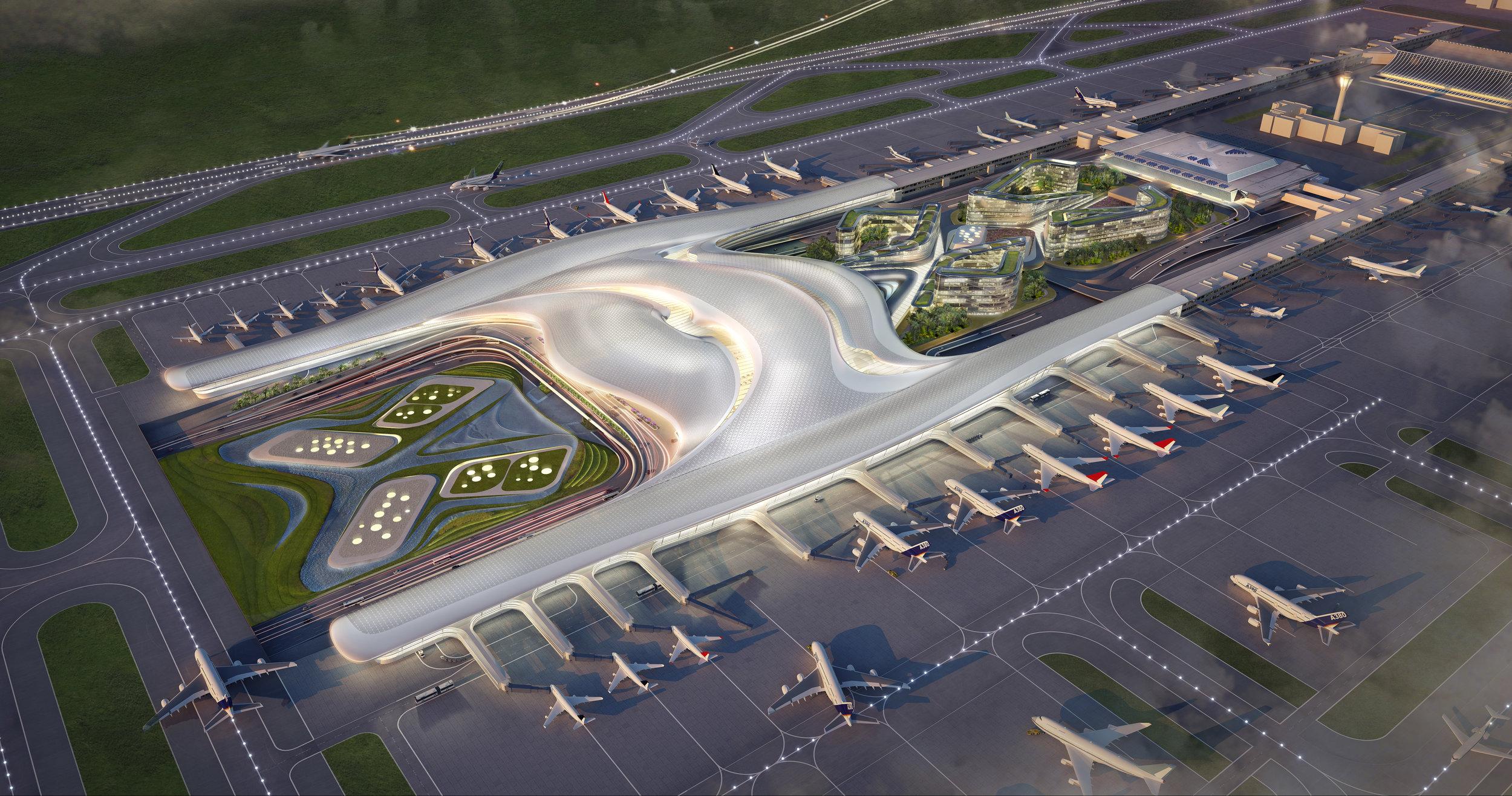 Taoyuan Int'l Airport T3<br>桃園國際機場 T3