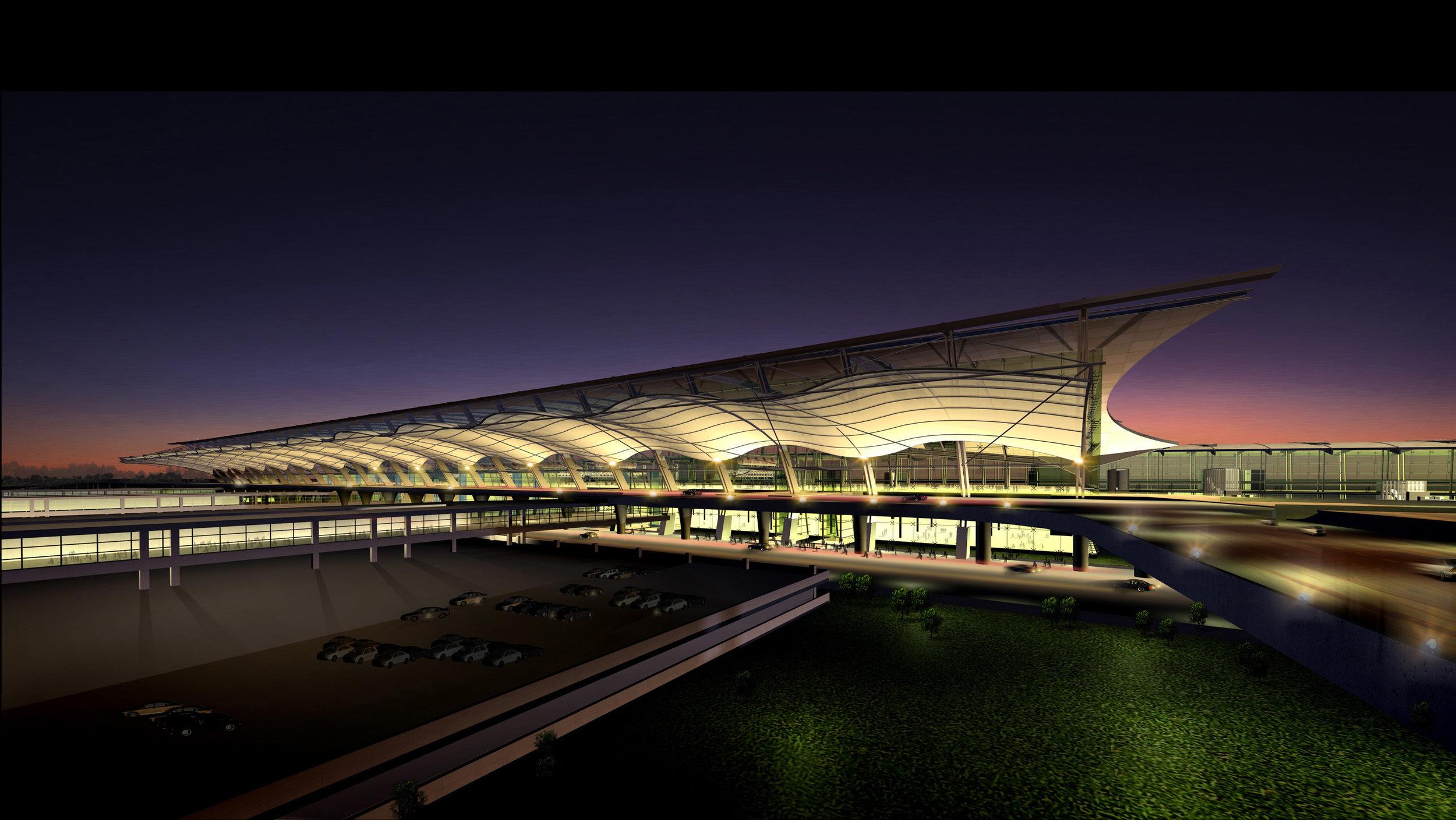 Shanghai Pudong Int'l Airport T2<br>上海浦東國際機場T2