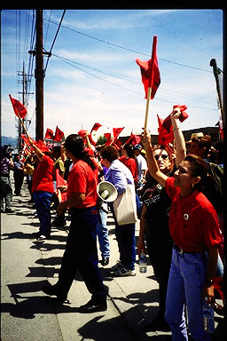 Watsonville Rally for Strawberry Workers