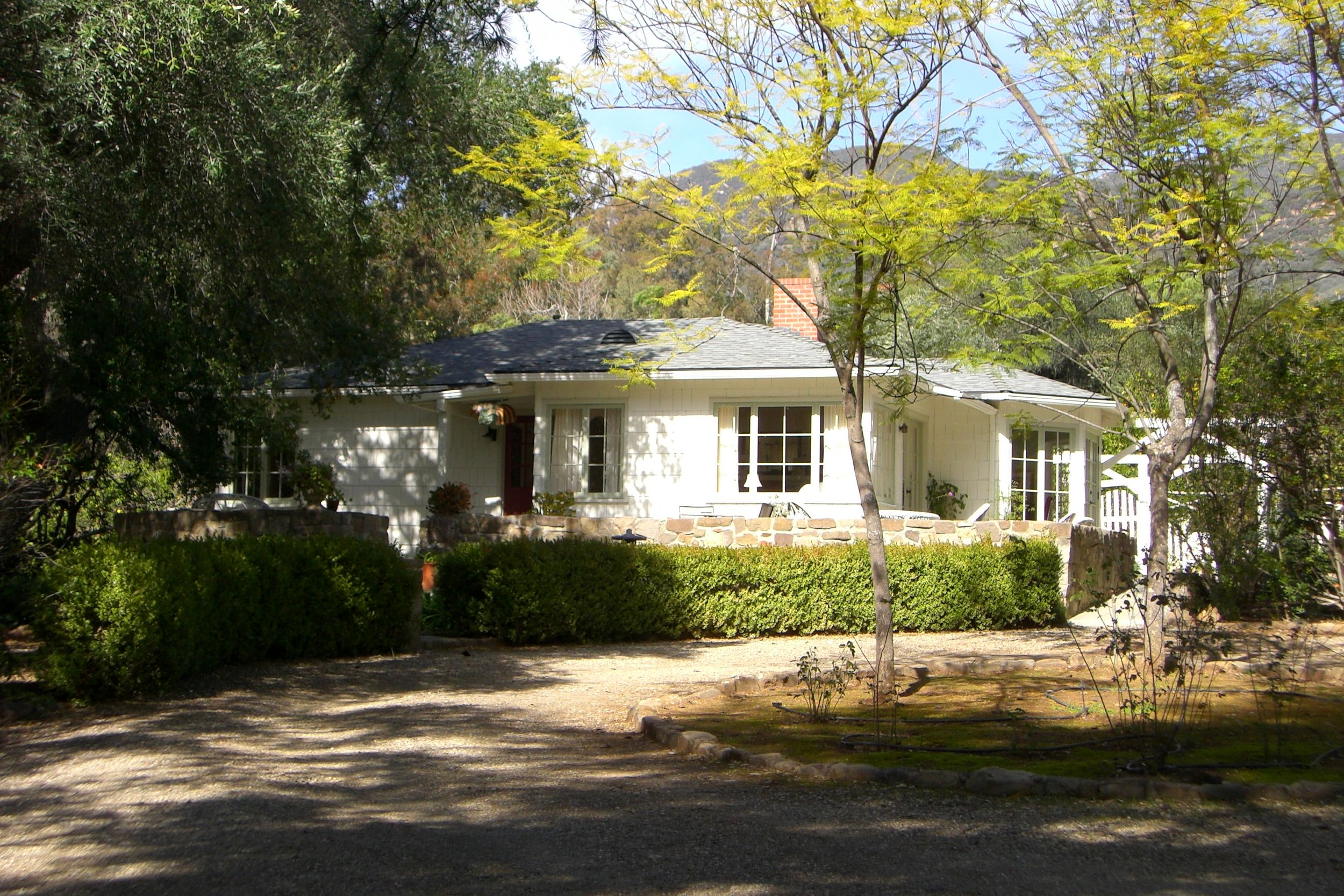 1940's Ojai Foothill Home