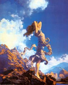 Maxfield Parrish  Mountain Ecstasy