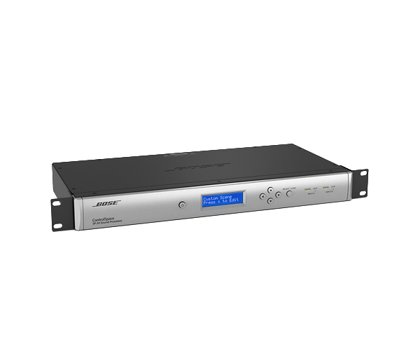 ControlSpace SP-24 - The Bose® ControlSpace® SP-24 sound processor makes optimizing 2x4 installed and portable sound systems easy. Use the purposefully simple front panel interface for basic operations, or the intuitive SP-24 Editor software for full access to all signal processing settings.