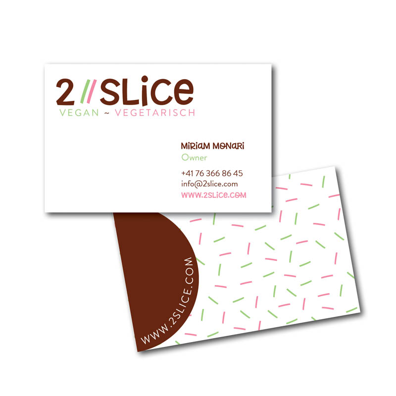 2Slice Business Cards