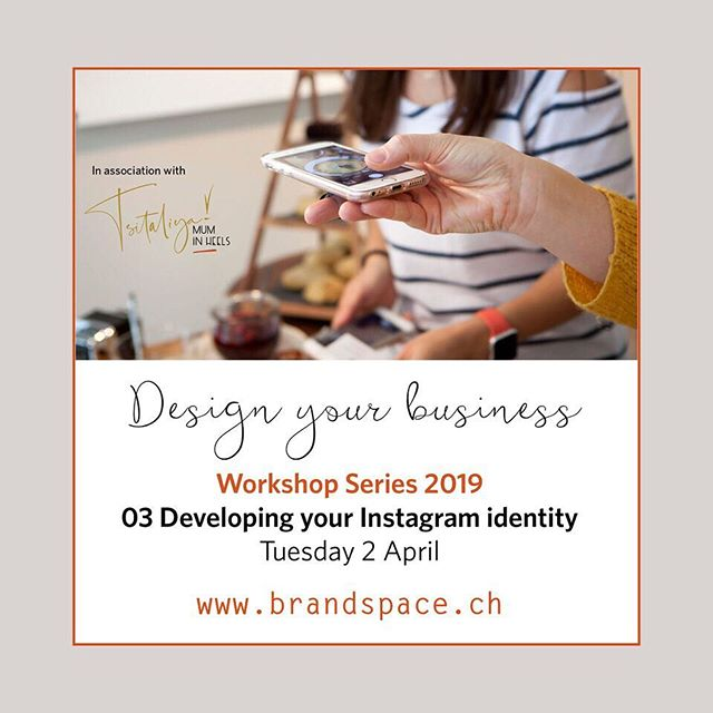 """⠀ BrandSpace in association with Professional Women's Group (PWG) Zurich is hosting a series of 8 workshops on how to Design your Business.⠀⠀⠀ ⠀⠀⠀ The workshops are designed to provide you with a """"taster' or overview of the essential toolkit required for branding and marketing your business, service or personal brand. ⠀⠀ ⠀⠀⠀ Come and join us for our third workshop :-⠀⠀⠀ ⠀⠀ Tuesday 2 April 2019 ⠀⠀⠀ Instagram - developing content and Identity ⠀ 6.30pm - 8.30pm ⠀⠀⠀ Marktgasse Hotel, Zürich ⠀⠀⠀ ⠀⠀⠀ We are pleased to announced that we will be joined by expert instagrammer - Tsitaliya @tsitaliya.in.heels who will share her strategies and tips. ⠀ ⠀ Places are limited so contact us or visit ⠀⠀⠀ www.pwg-zh.com/events to book! ⠀ @professional_womens_group⠀⠀⠀ ⠀⠀⠀ ⠀ ⠀ ⠀ #pwg #brandspace #zurichsmallbusinesses #creativeentrepreneur #personalbranding #brandingsmallbusiness #swissbusinessschool #swissbrands #professionalwomeninzurich #brandphotography #brandingworkshops #designyourbusiness #essentialsofbranding #moodboardingforbusiness #instgramworthy #instagramforsmallbusinesses #instgraminzurich ⠀ ⠀ ⠀ ⠀ ⠀ ⠀ ⠀⠀⠀"""