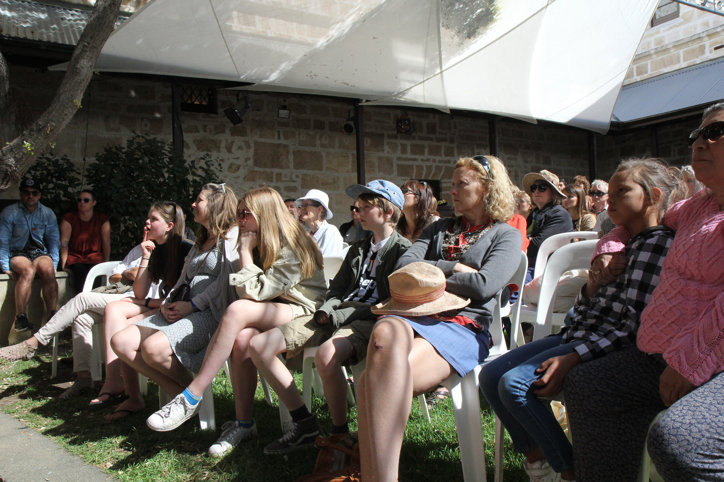 Audiences at REVEALED: In Conversation, 2017  Image courtesy of Fremantle Art Centre