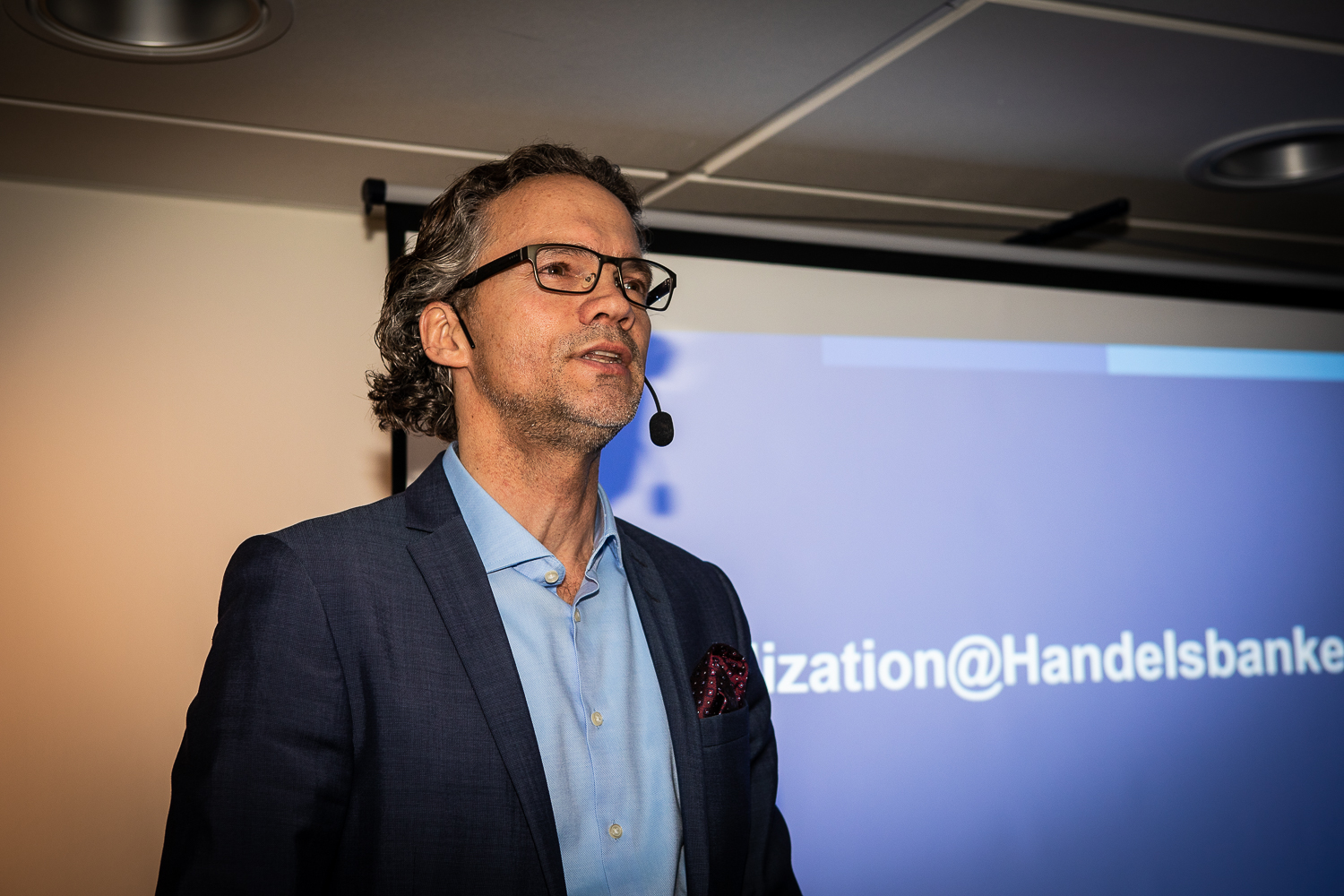 Stephan Erne gave us a little insight about the digital transformation.