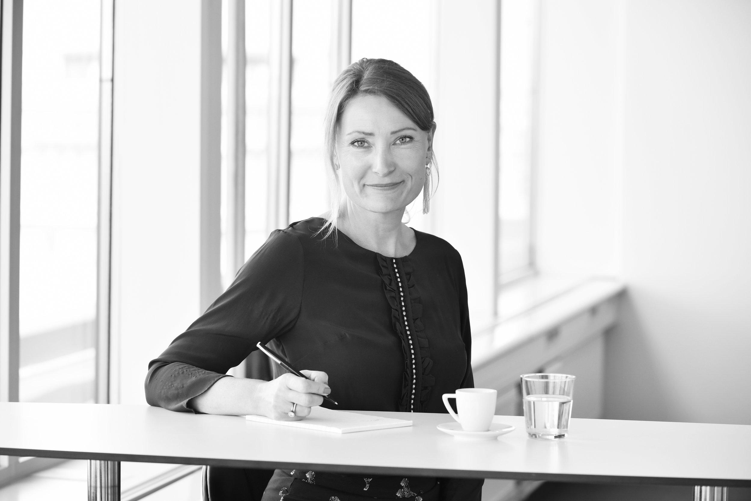 Charlotta Kvarnström, partner Nordic Interim