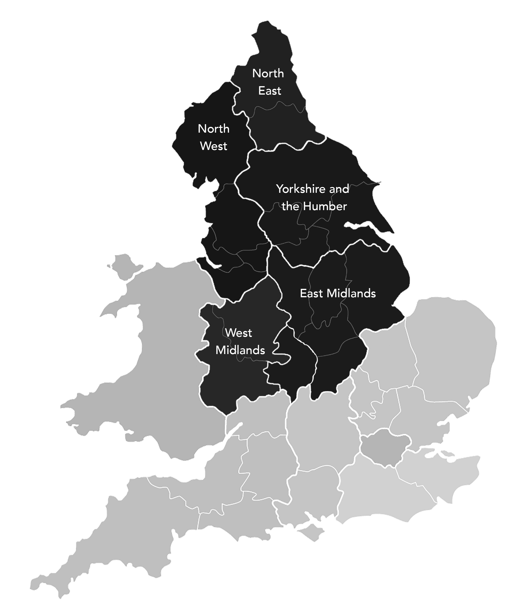Glocal PI England Map