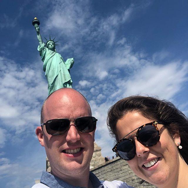 The American Dream in NYC, amazing honeymoon ❤️ @eveliiien