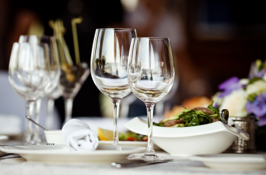 - Invite your family or friends. Hosting a dinner here means you can enjoy the event just as much as your guests – without any hassle.