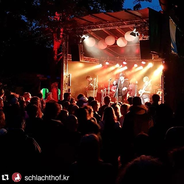 Ein Fest unter Freunden! Krefeld hat es immer noch drauf. Schön, dass ihr alle da ward ♥  #maicaramba #liveconcert #openairconcert #liveonstage #krefeld #crimecity #schönwars