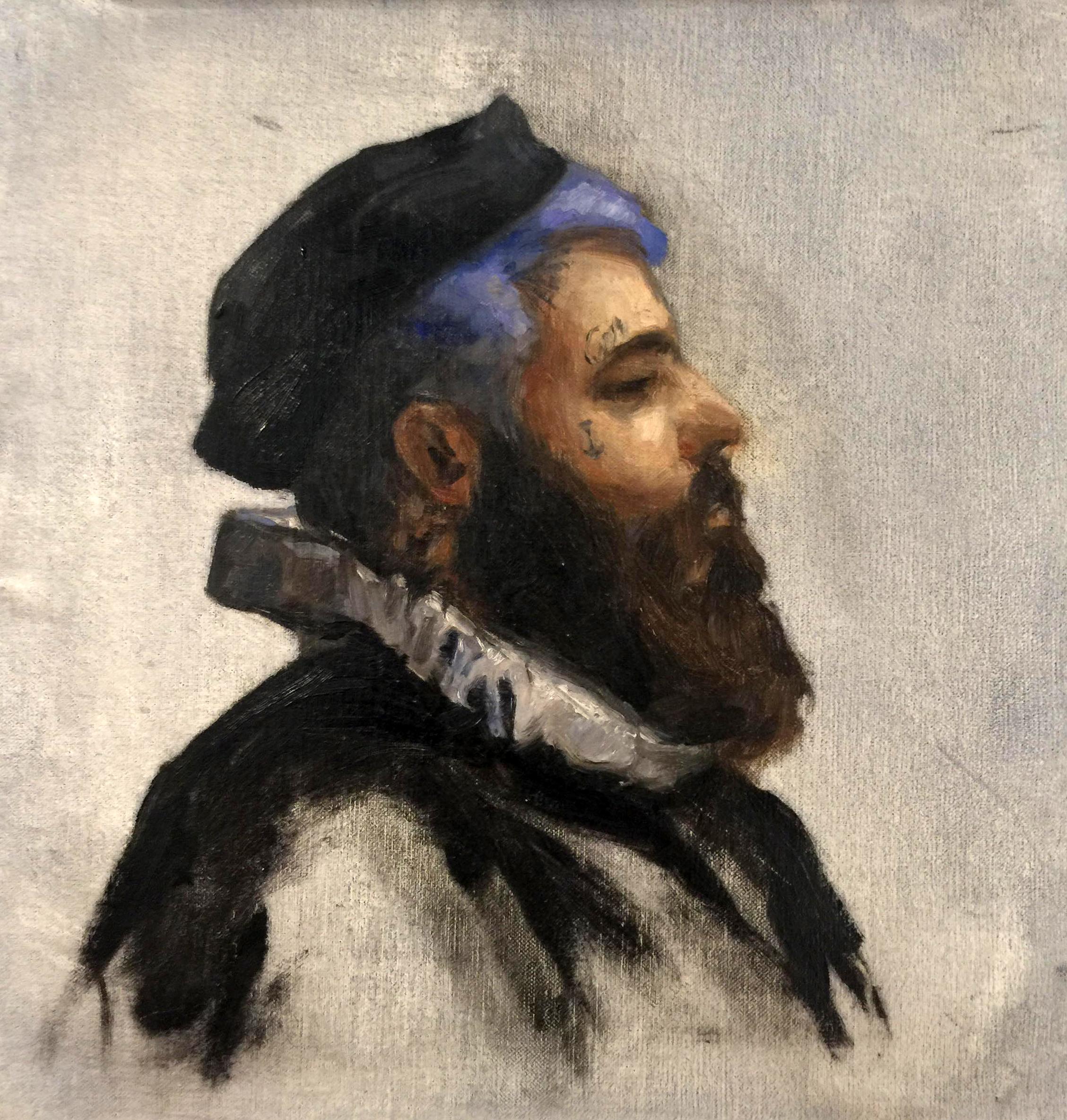 Portrait of Thiago in Full Regalia