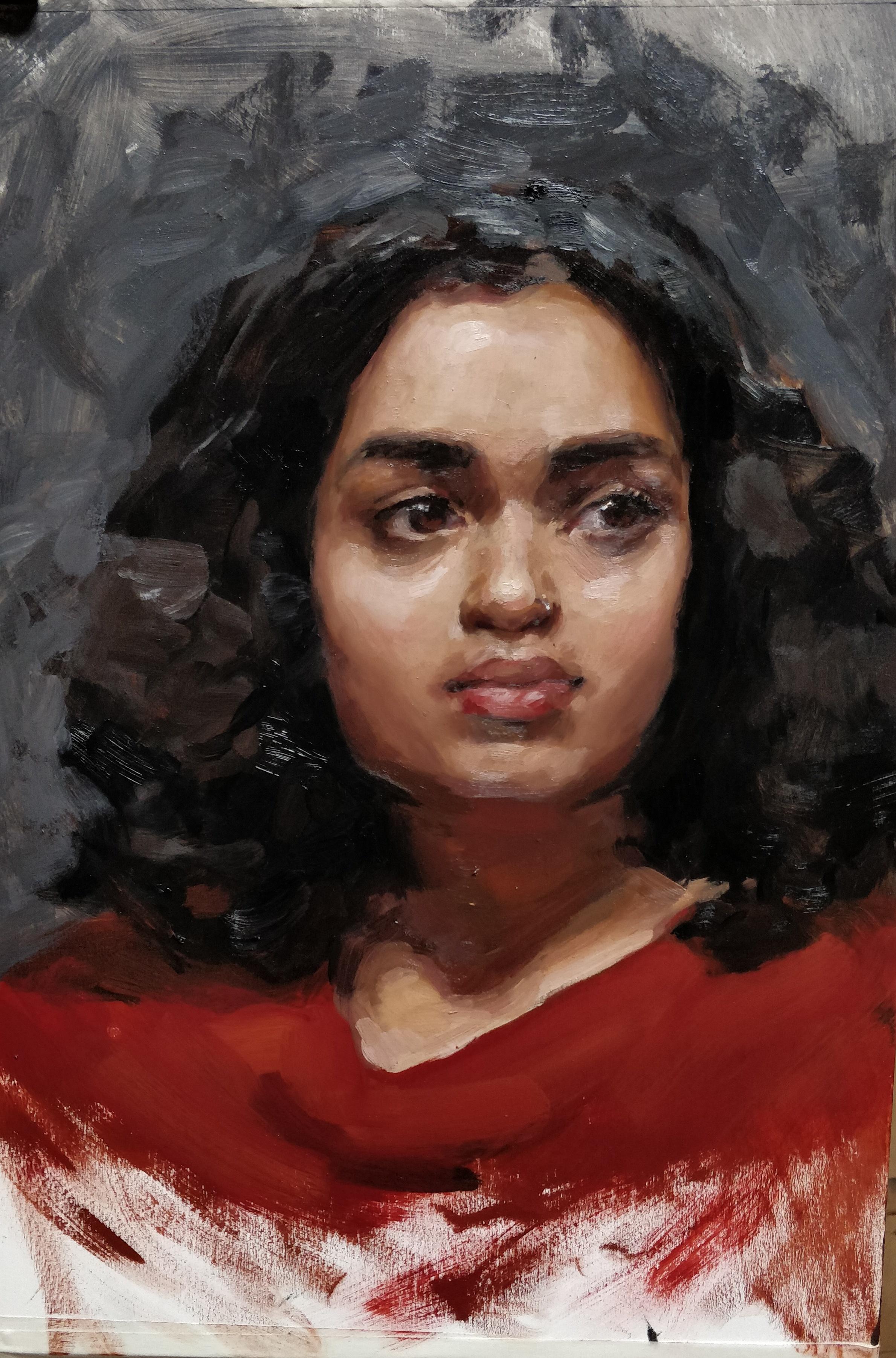 Portrait of Manoor