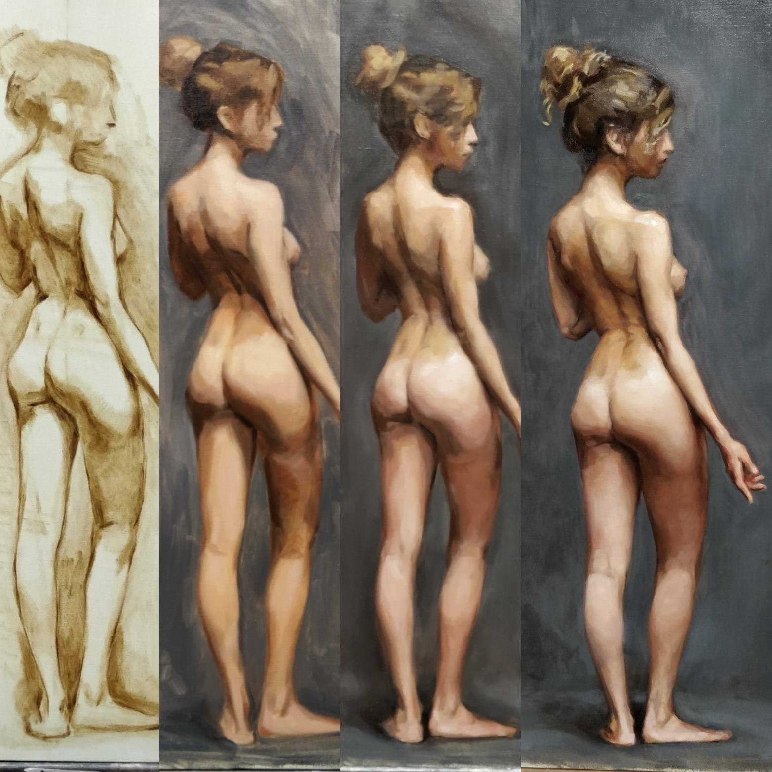 Nude study process